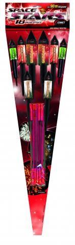 Keller Space Stars Raketensortiment