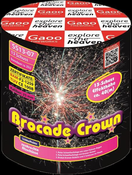 Gaoo Brocade Crown